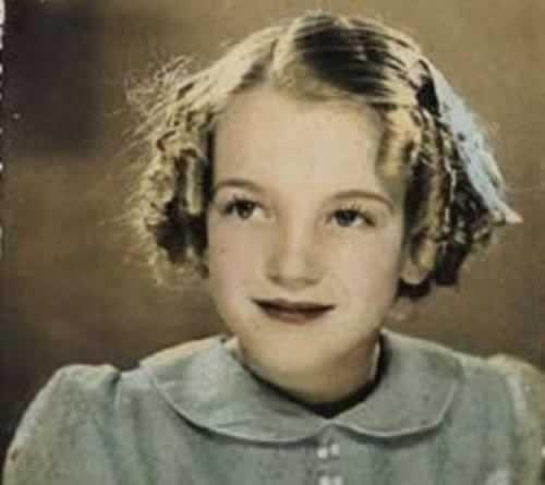 Norma Jeane Baker de niña