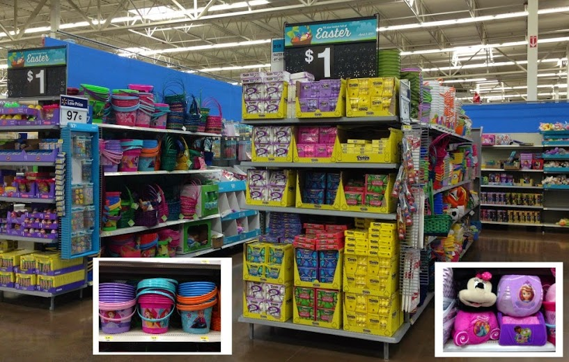 Disney Princess Easter baskets and fillers at Walmart #DisneyEaster