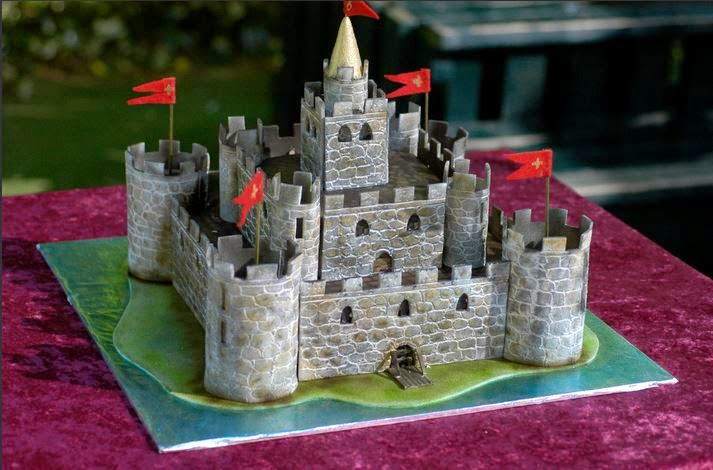 Castle Birthday Cakes