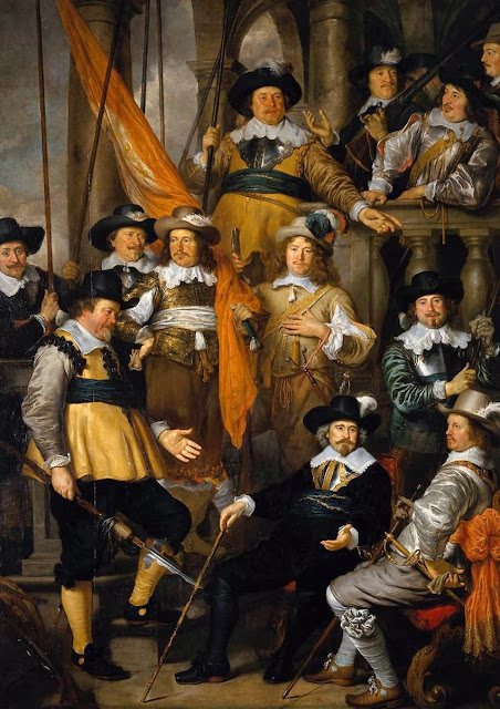 Govaert Flinck - The Company of Captain Albert Bas and Lieutenant Lucas Conijn