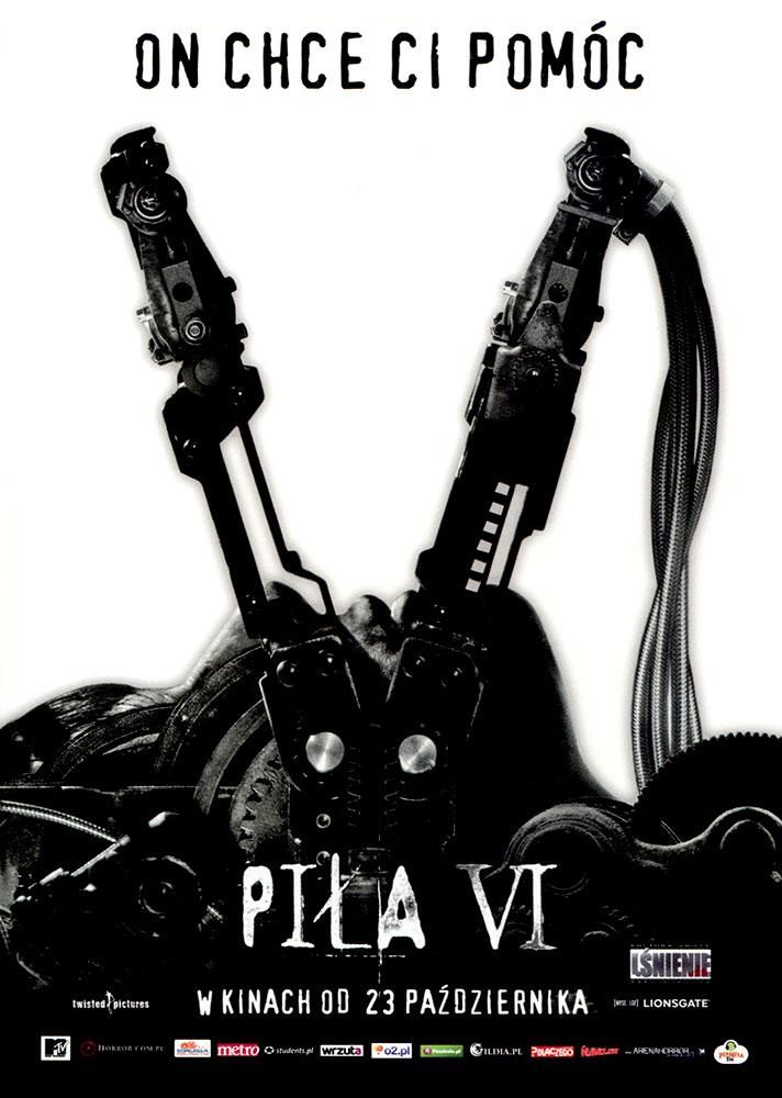 Ulotka filmu 'Piła VI (przód - wersja B)'