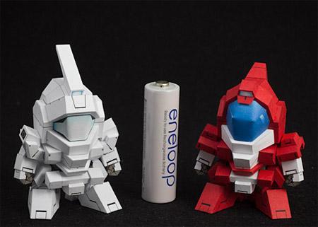 SD Gundam Genoace Papercraft
