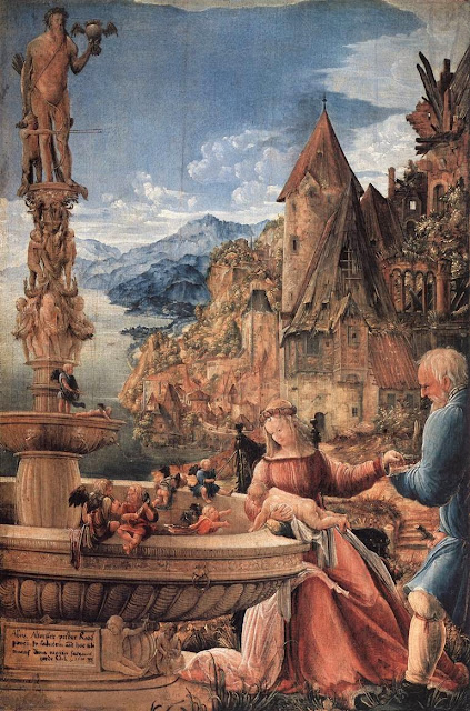Albrecht Altdorfer - Rest on the Flight into Egypt
