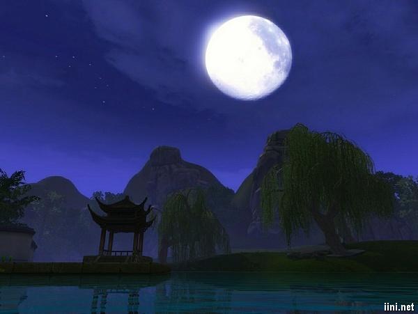 thơ tình về trăng trong đêm