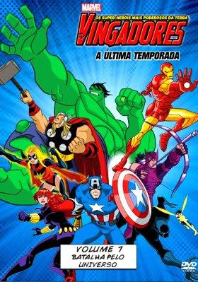 Filme Poster Os Vingadores – Os Super Heróis Mais Poderosos da Terra Vol.7  DVDRip XviD & RMVB Dublado