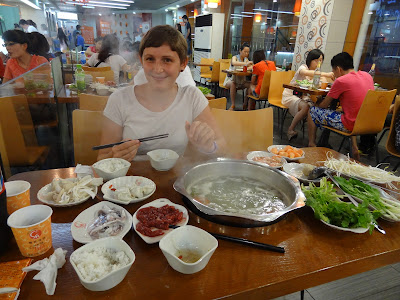 Hot Pot in Guilin