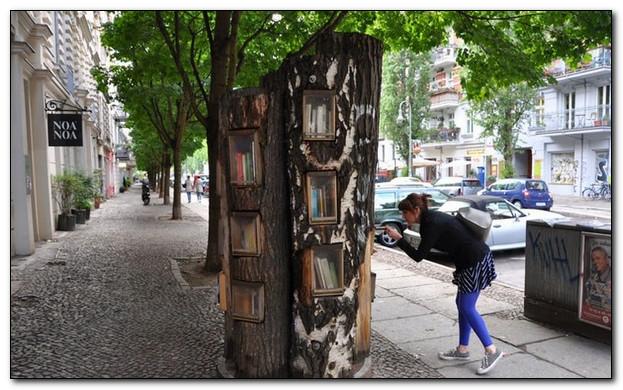 Свободный обмен книгами или как в Берлине поддерживают интерес к печатным изданиям