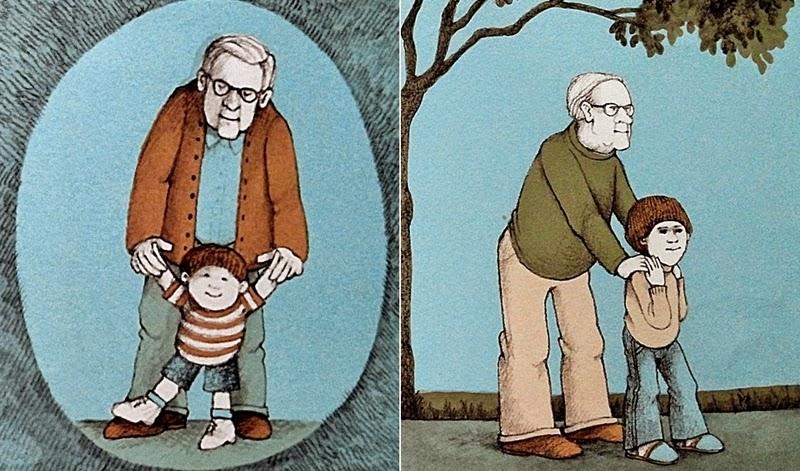 오른발, 왼발 - 그리운 할아버지