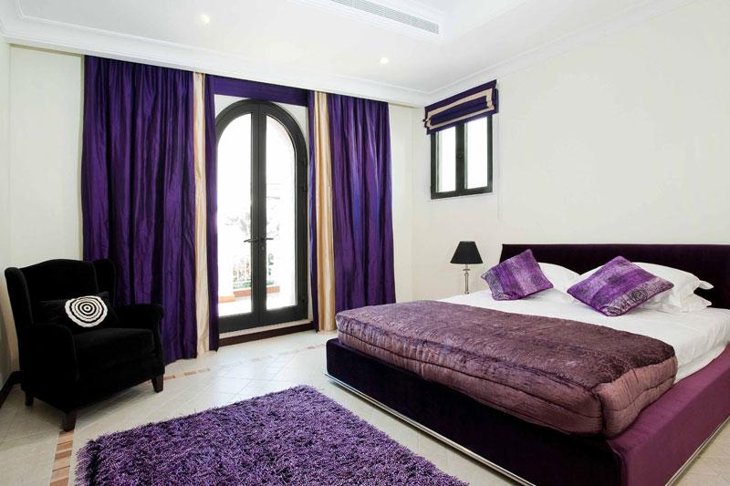 Home Designers Pro Purple Bedroom Interior Design
