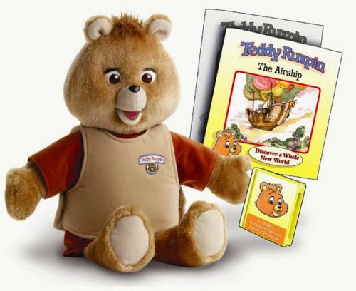 Totally Awesome Reasons I Love the 80s: Teddy Ruxpin