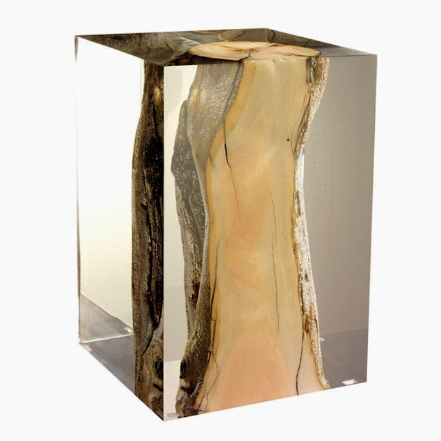 Bout de canap en bois blanc - Bout de canape bois brut ...
