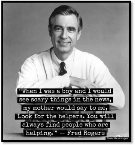 Boston Marathon Mr. Rogers