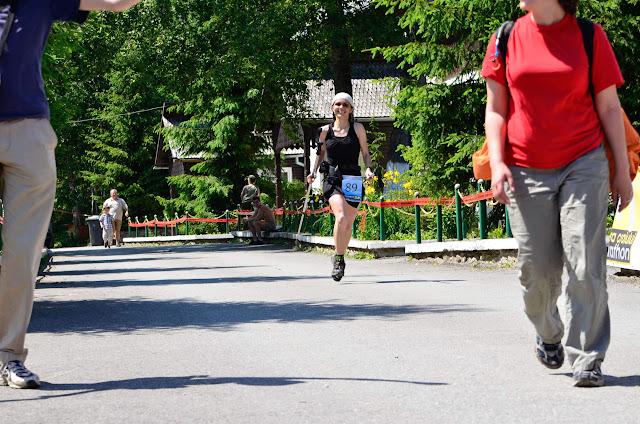 Retezat Trail Race - finish