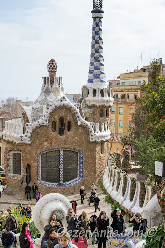 Park Güell girişi, Barselona