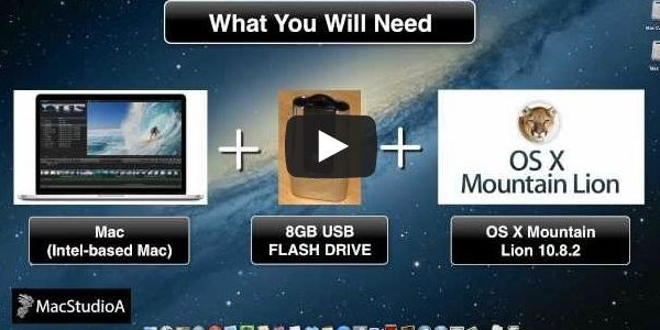 Creating Mac OS X USB Boot Disk