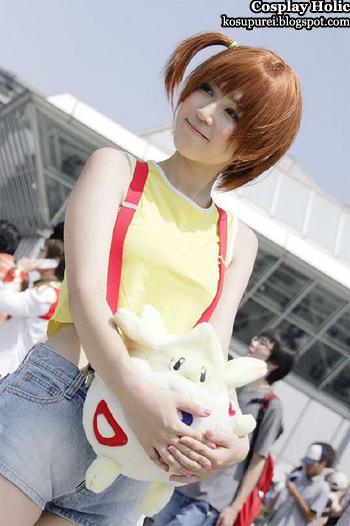 pokemon cosplay - misty aka kasumi