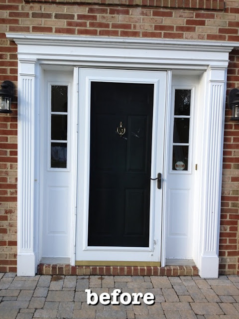 Teacup Lane: New Pella Door & Sidelights