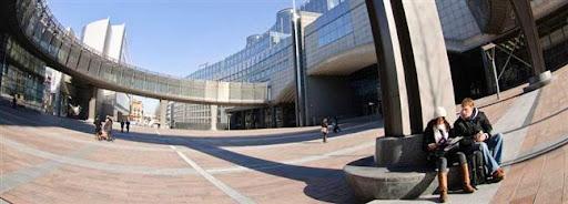Bruselas Valonia: Sede del Parlamento Europeo en Bruselas