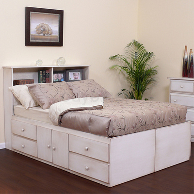 Types Of Bed That Provide Organized Storage Options Built Right Into The Frame