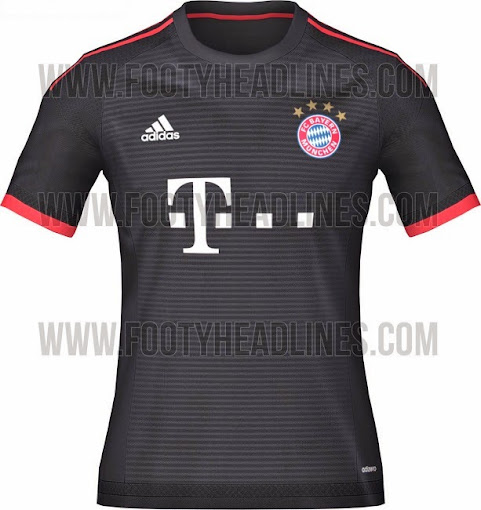 buy popular 3dbca cc375 Bayern Munich 2015-16 Home Kit (Released) Away & Third Leaked