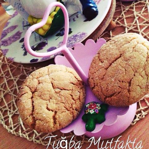badem ezmeli kurabiye
