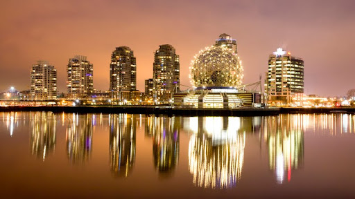 Downtown Vancouver Reflected in False Creek, Vancouver, British Columbia.jpg