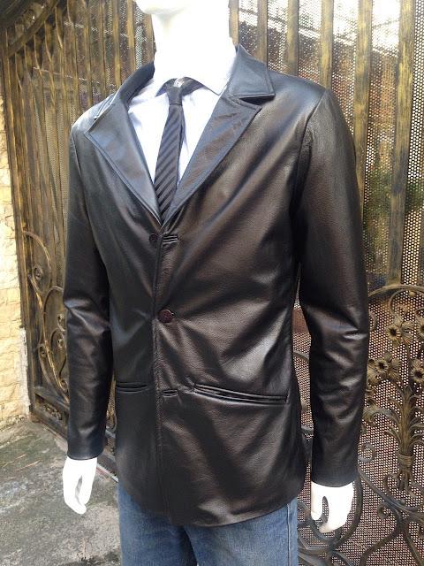 áo vest da bò nam cao cấp