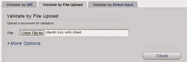 Cách kiểm tra website của bạn có đúng chuẩn W3C hay không 2