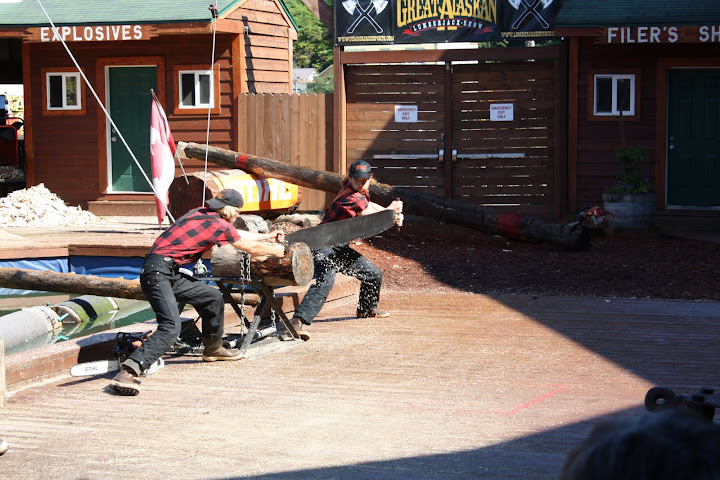 Alaskan Lumberjack Show, Ketchikan