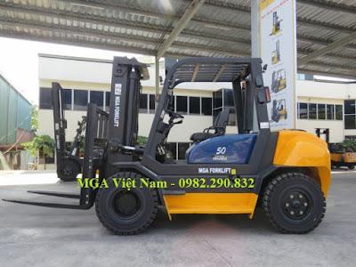 Xe nâng hàng 5 tấn MGA Việt Nam