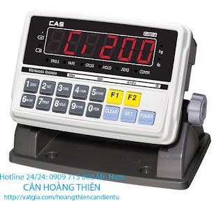 đầu cân indicator cas CI-200A-201A