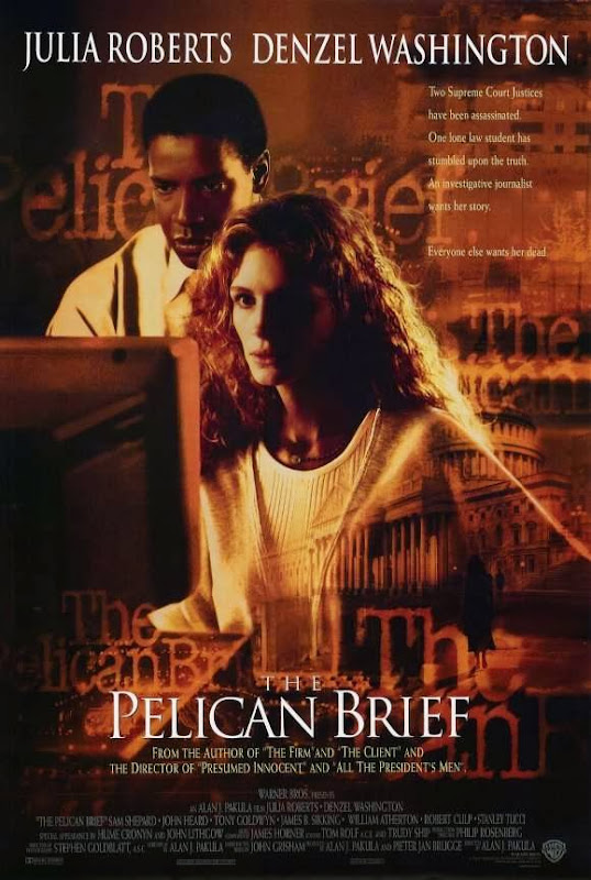 Poster Of The Pelican Brief (1993) Full Movie Hindi Dubbed Free Download Watch Online At Alldownloads4u.Com