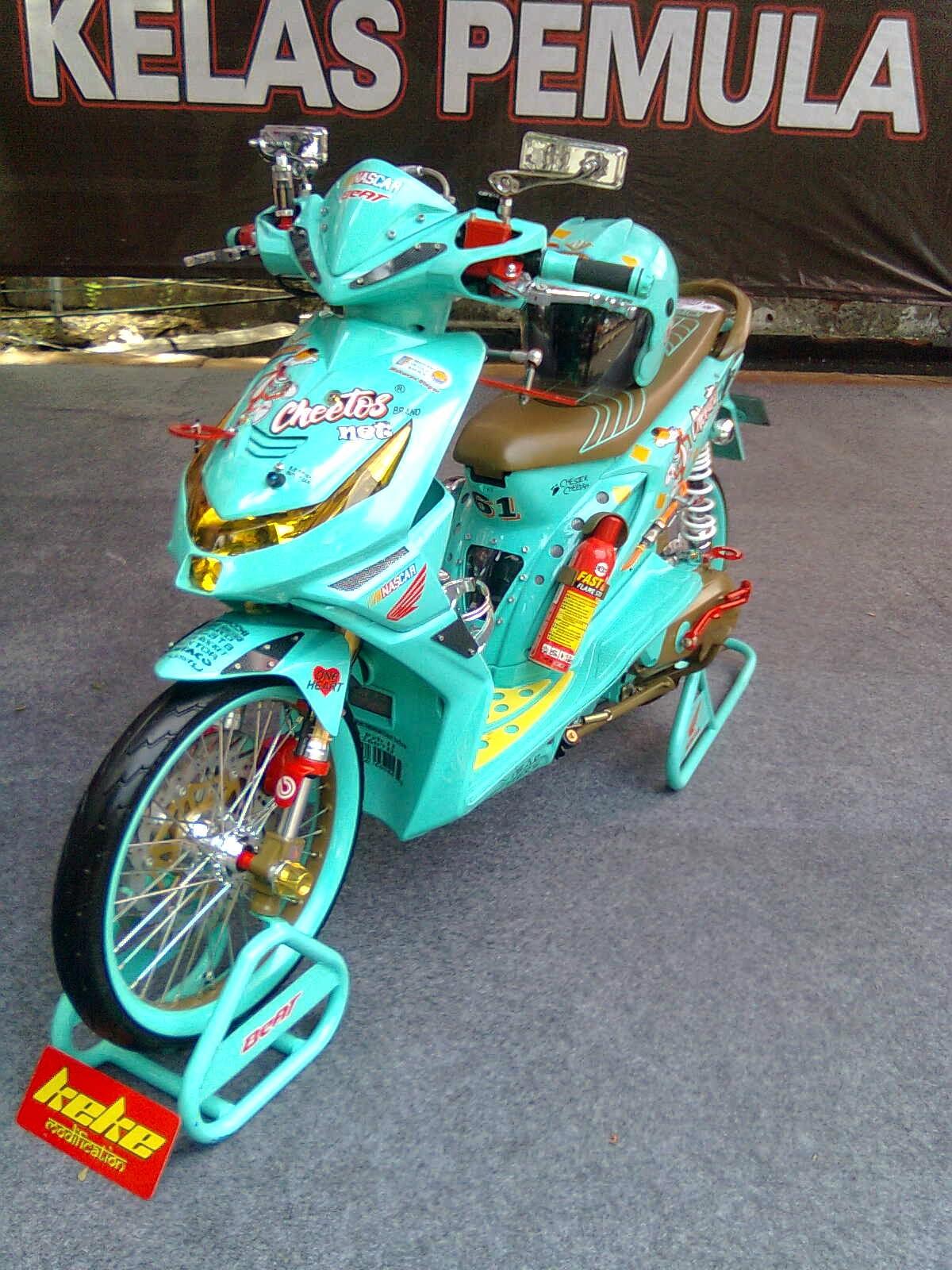 Koleksi 58 Modifikasi Motor Honda Beat Hijau Terupdate Pojok Otomania
