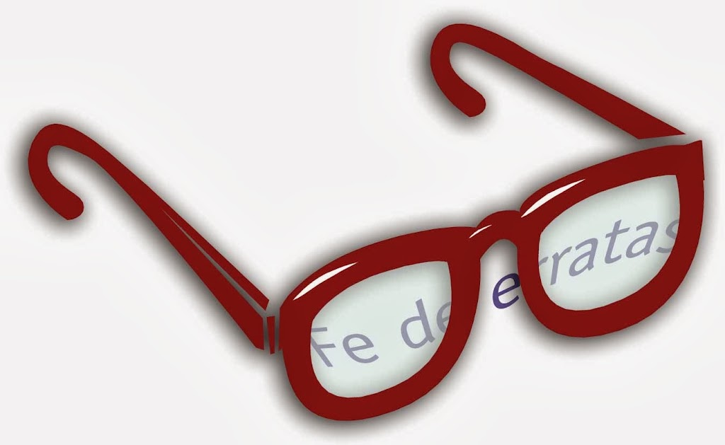 Gafas - Fe de erratas