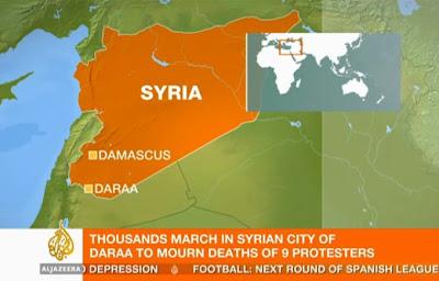 la proxima guerra represion sangrienta manifestaciones Siria