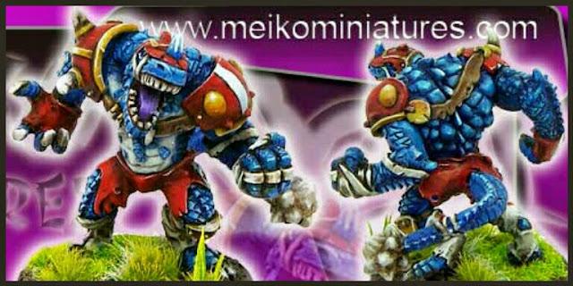 Kroxigor Meiko Miniatures