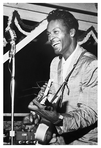 Chuck Berry Playing the Guitar	August 30, 1959