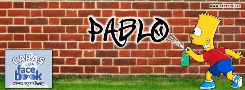 Capas para Facebook Pablo