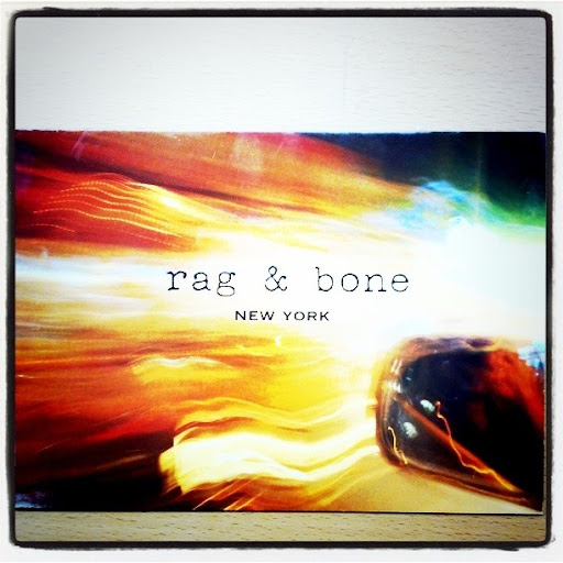 A cool photograph for Rag and Bone, one of my favorites.