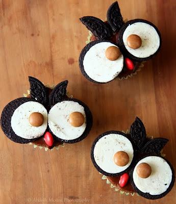 recette-enfant-gateau-cupacke-chouette-halloween