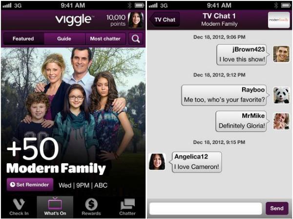 Viggle Social TV