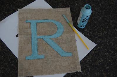 make your own monogram art