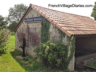 French Village Diaries old wash house lavoir my expat family