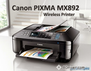 download Canon PIXMA MX892 printer's driver