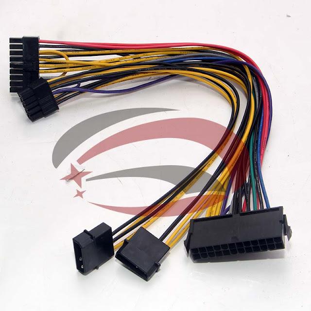 Cáp chuyển nguồn HP Z800 từ 24 pin thành 18pin và 10 pin 4097654