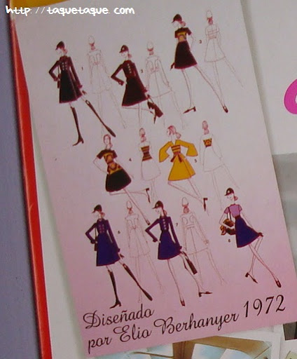 nancys azafatas de ayer y de hoy colección bocetos elio berhanyer
