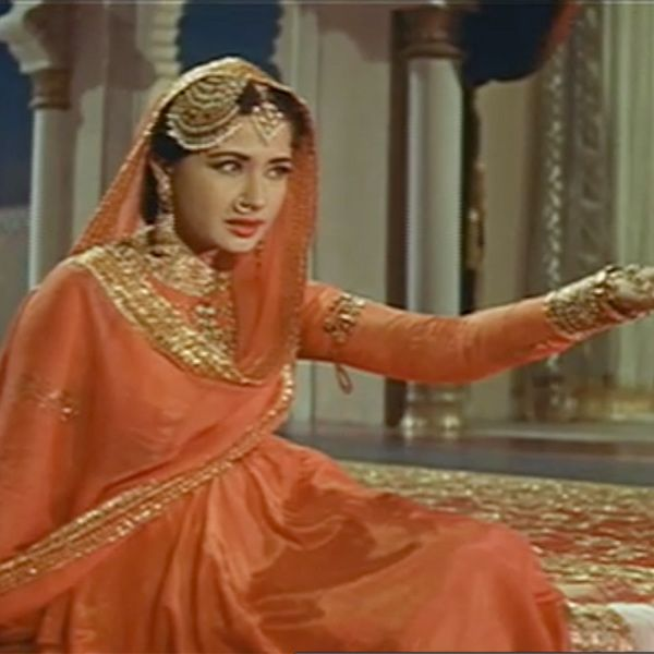 The film 1972 indian film Pakeezah has become a cult classic and was one of the many classic characters portrayed by Meena Kumari. She played the role of a courtesean in tne film. Sadly, she died weeks after it's release, which lead the flop film to become a cult classic after people flocked the theaters to get one last look at Meena Kumari.