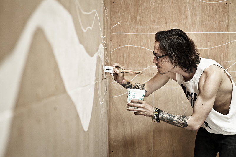 Art duet blog march 2011 for Brandon boyd mural