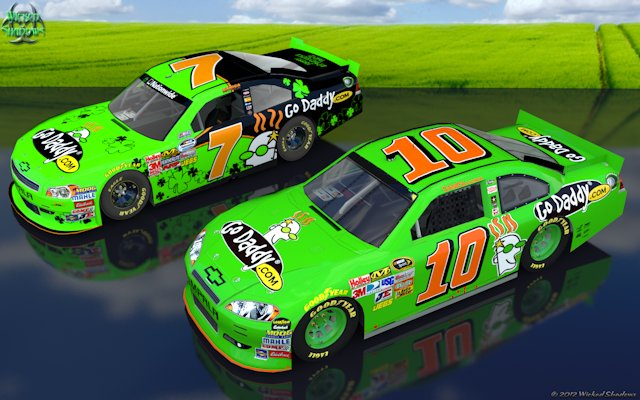 Danica Patrick 2012 double duty Wallpaper