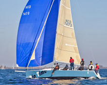 J/109 benelux racing sailboat